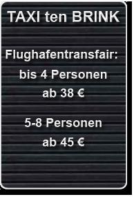 Flughafentransfer. Zu einem fairen Preis fahren wir sie zu jedem, mit dem Auto erreichbaren, Flughafen.